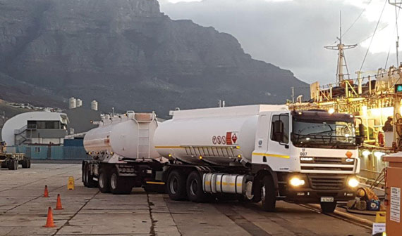 Bunker services, South Africa
